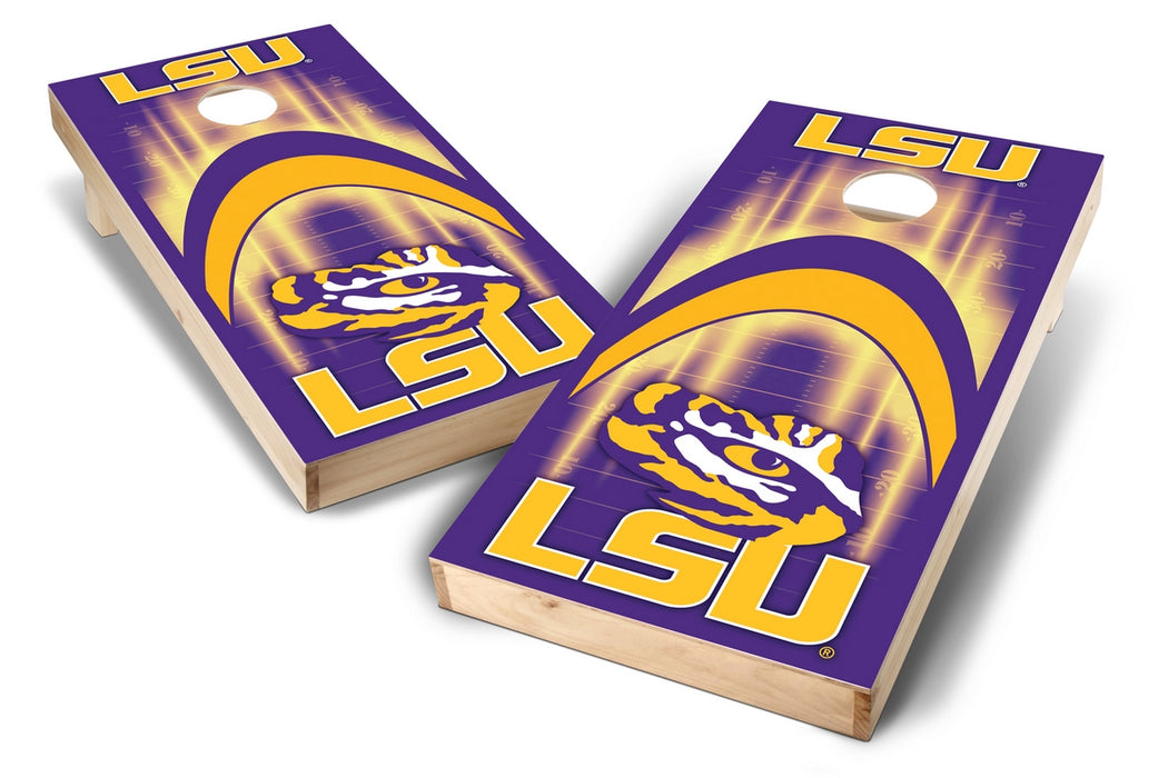 LSU Tigers 2x4 Cornhole Board Set - Arch
