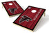 Atlanta Falcons 2x3 Cornhole Board Set - Vintage
