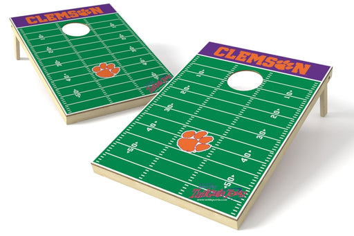 Clemson Tigers 2x3 Cornhole Board Set - Field