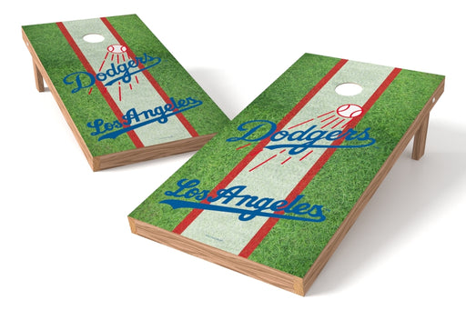 Los Angeles Dodgers 2x4 Cornhole Board Set - Field
