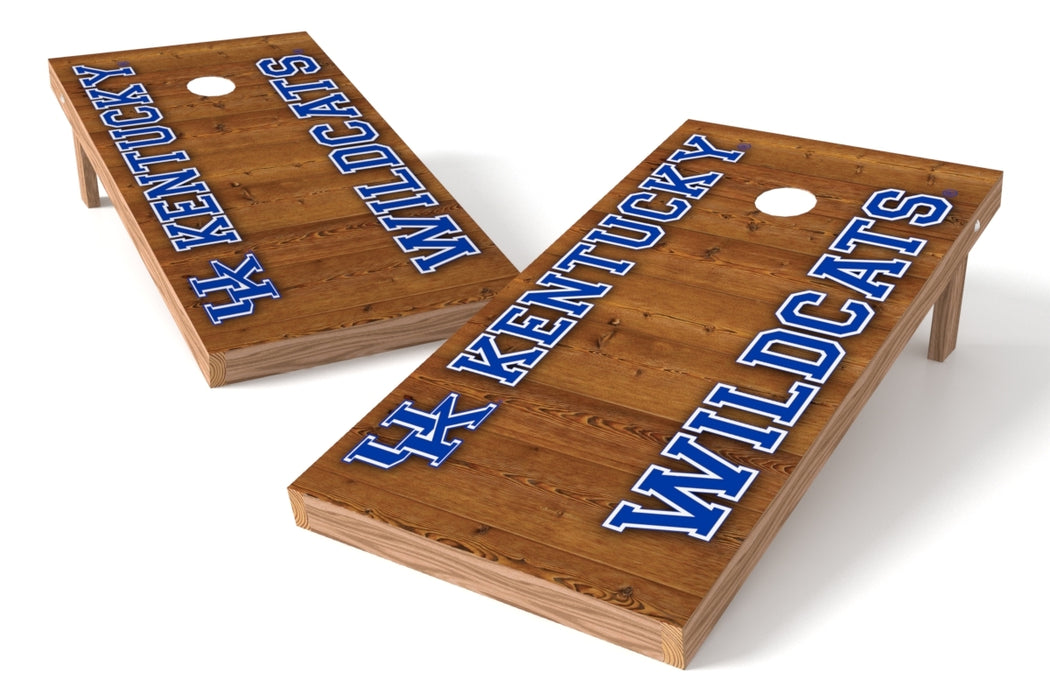 Kentucky Wildcats 2x4 Cornhole Board Set - Vertical