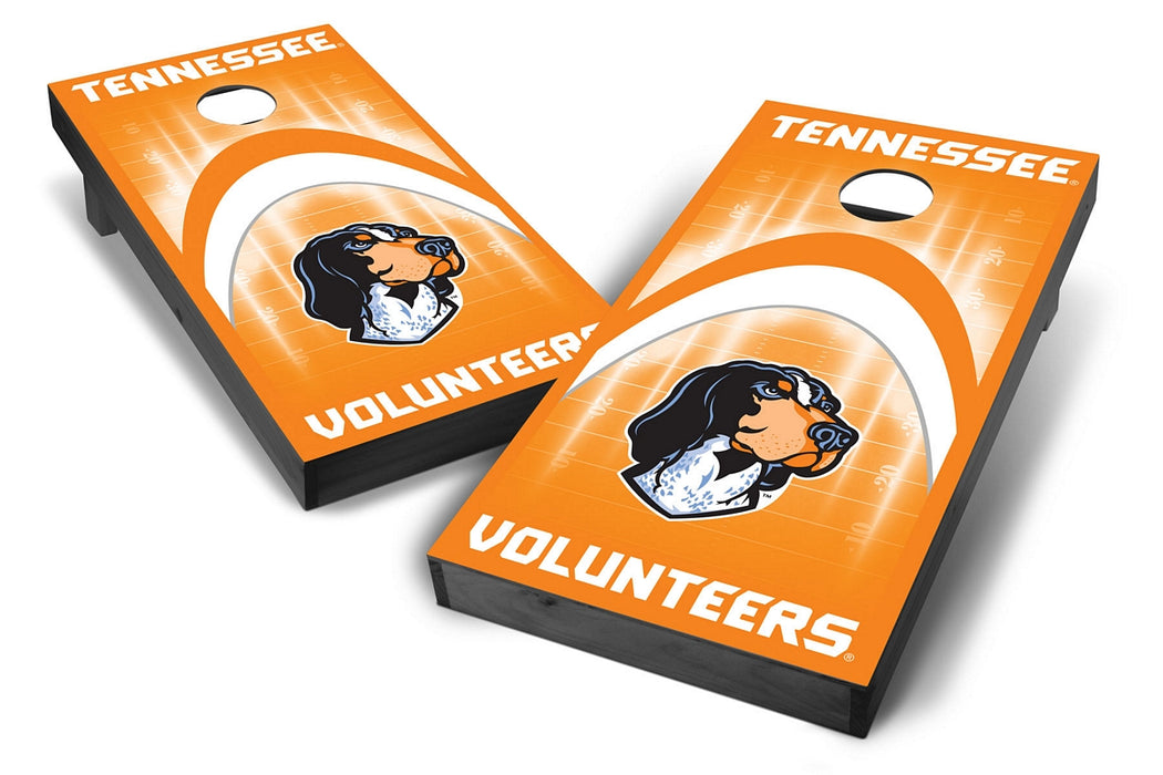 Tennessee Volunteers 2x4 Cornhole Board Set Onyx Stained - Arch