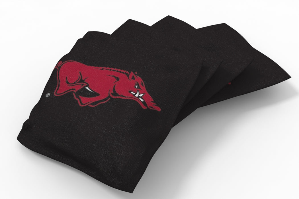 Arkansas Razorbacks 2x4 Cornhole Board Set - Vertical