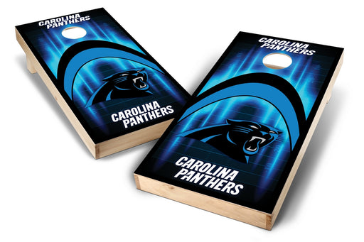 Carolina Panthers  2x4 Cornhole Board Set - Arch