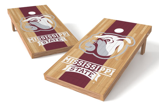 Mississippi State Bulldogs 2x4 Cornhole Board Set - Wood