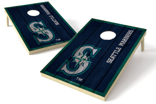 Seattle Mariners 2x3 Cornhole Board Set - Vintage