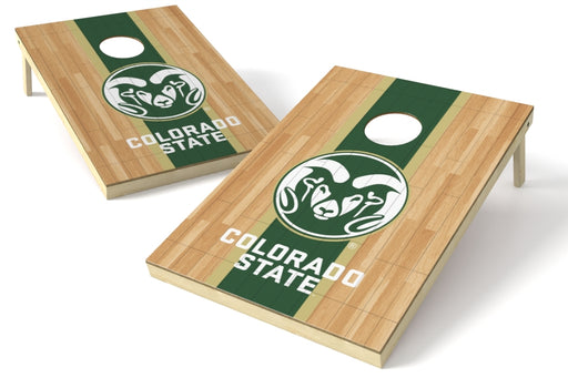 Colorado State Rams 2x3 Cornhole Board Set - Hardwood