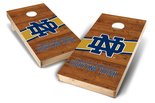 Notre Dame Fighting Irish 2x4 Cornhole Board Set - Logo