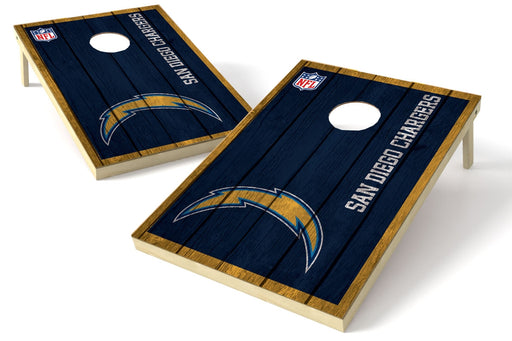 Los Angeles Chargers 2x3 Cornhole Board Set - Vintage