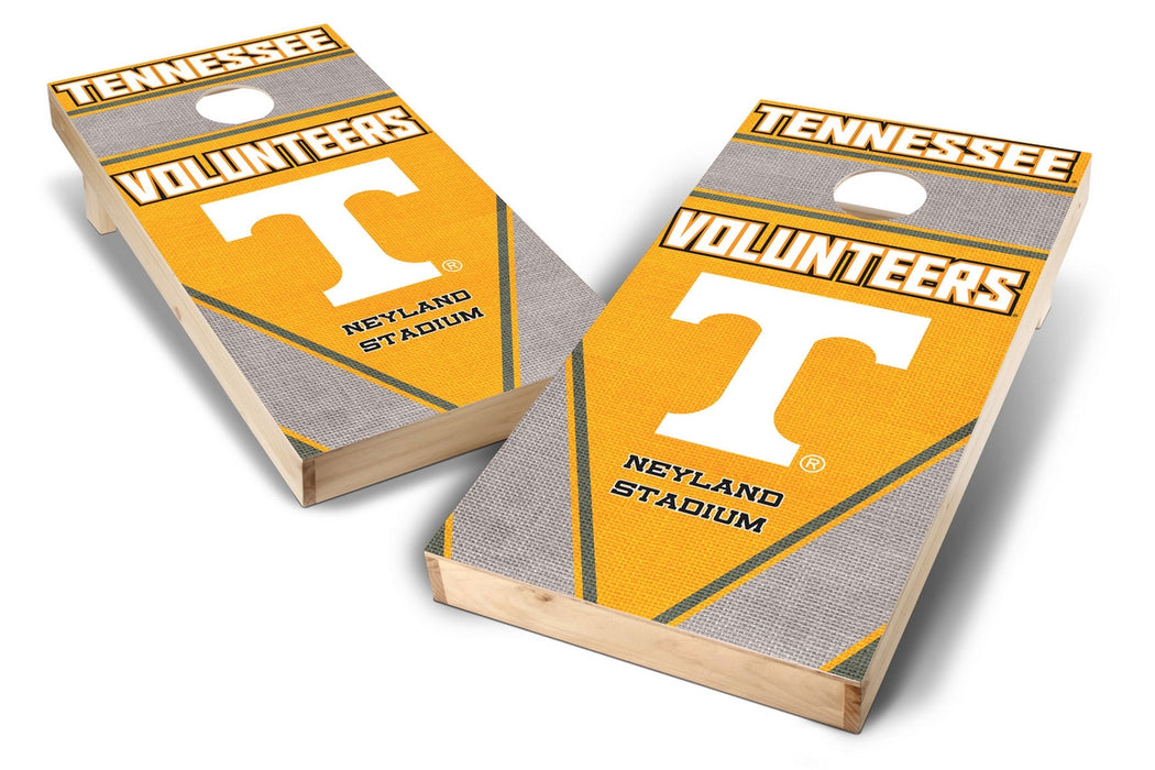 Tennessee Volunteers 2x4 Cornhole Board Set - Burlap