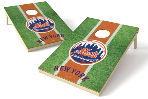 New York Mets 2x3 Cornhole Board Set - Field