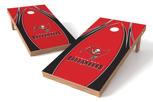 Tampa Bay Buccaneers 2x4 Cornhole Board Set - Edge