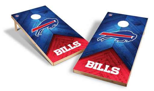 Buffalo Bills 2x4 Cornhole Board Set - Weathered