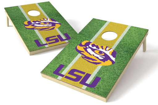 Louisiana State Tigers (LSU) 2x3 Cornhole Board Set - Field