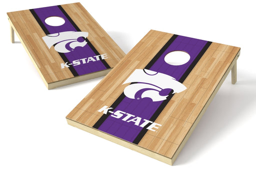 Kansas State Wildcats 2x3 Cornhole Board Set - Hardwood