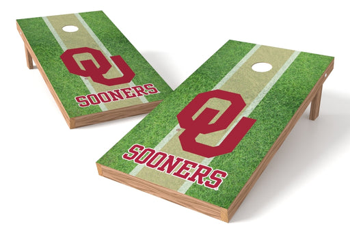 Oklahoma Sooners 2x4 Cornhole Board Set - Field