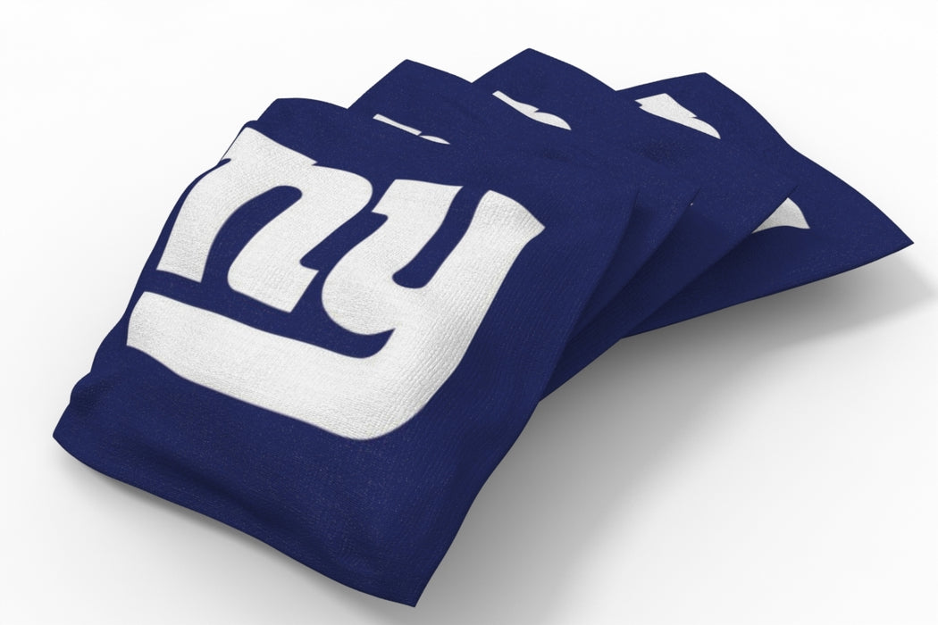 New York Giants  Solid Bean Bags - 4pk