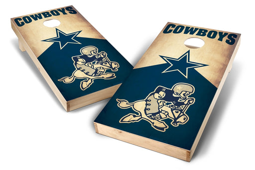 Dallas Cowboys 2x4 Cornhole Board Set - Nostalgia