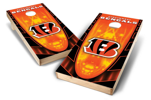 Cincinnati Bengals 2x4 Cornhole Board Set - Hot