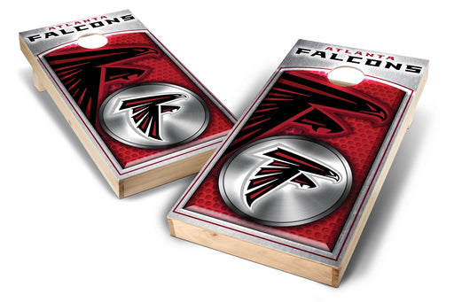 Atlanta Falcons 2x4 Cornhole Board Set - Medallion