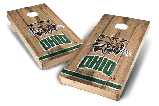 Ohio University Bobcats 2x4 Cornhole Board Set - Vintage
