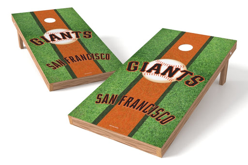 San Francisco Giants 2x4 Cornhole Board Set - Field