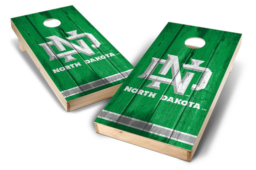 North Dakota Fighting Hawks 2x4 Cornhole Board Set - Vintage