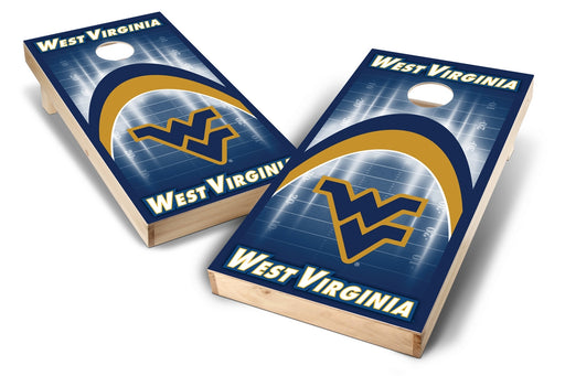 WVU Mountaineers 2x4 Cornhole Board Set - Arch