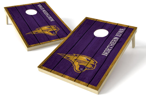 Northern Iowa Panthers 2x3 Cornhole Board Set - Vintage