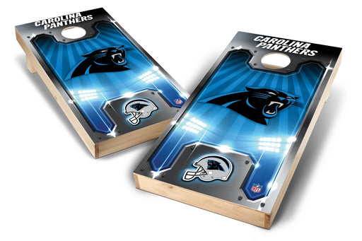 Carolina Panthers 2x4 Cornhole Board Set - Plate