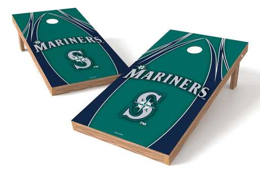 Seattle Mariners 2x4 Cornhole Board Set - Edge