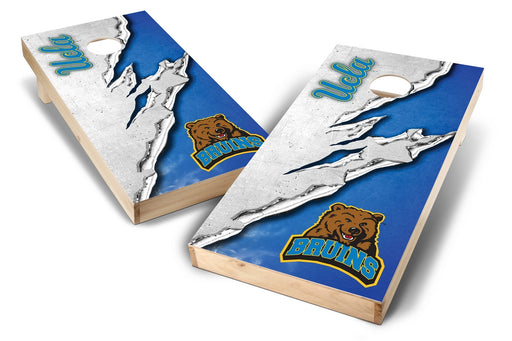 UCLA Bruins 2x4 Cornhole Board Set - Ripped