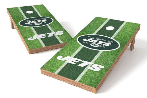 New York Jets 2x4 Cornhole Board Set - Field