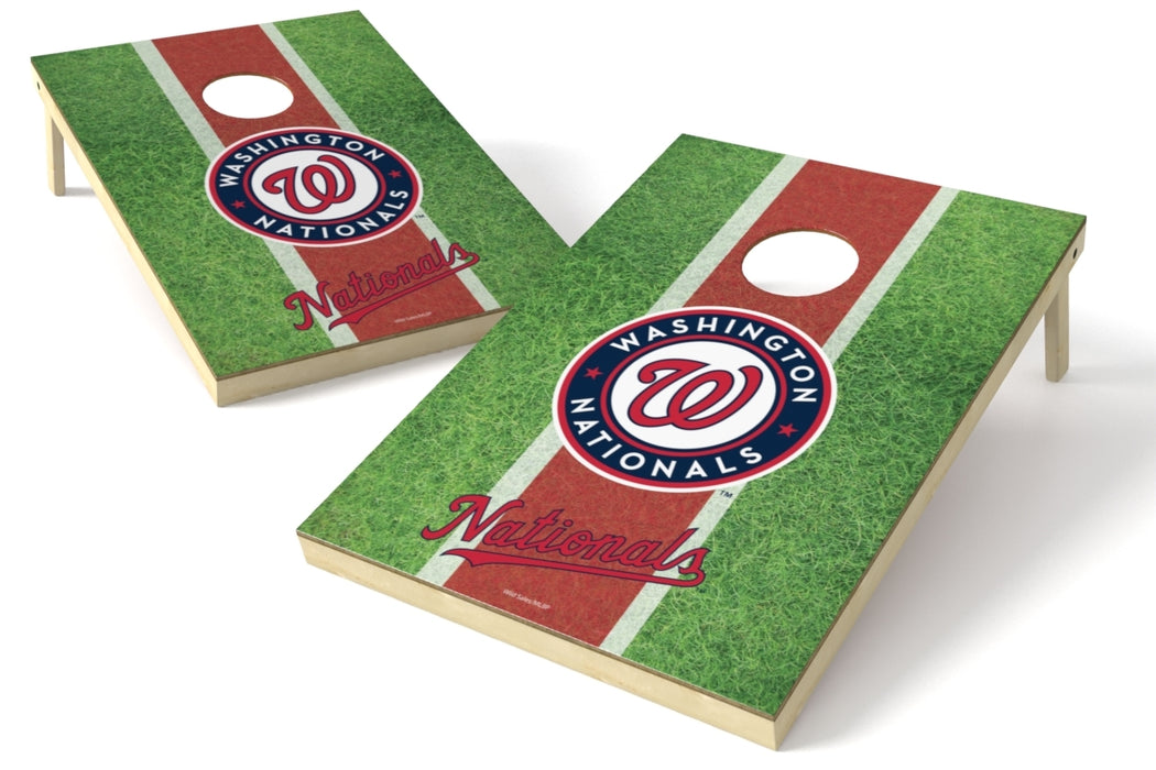 Washington Nationals 2x3 Cornhole Board Set - Field
