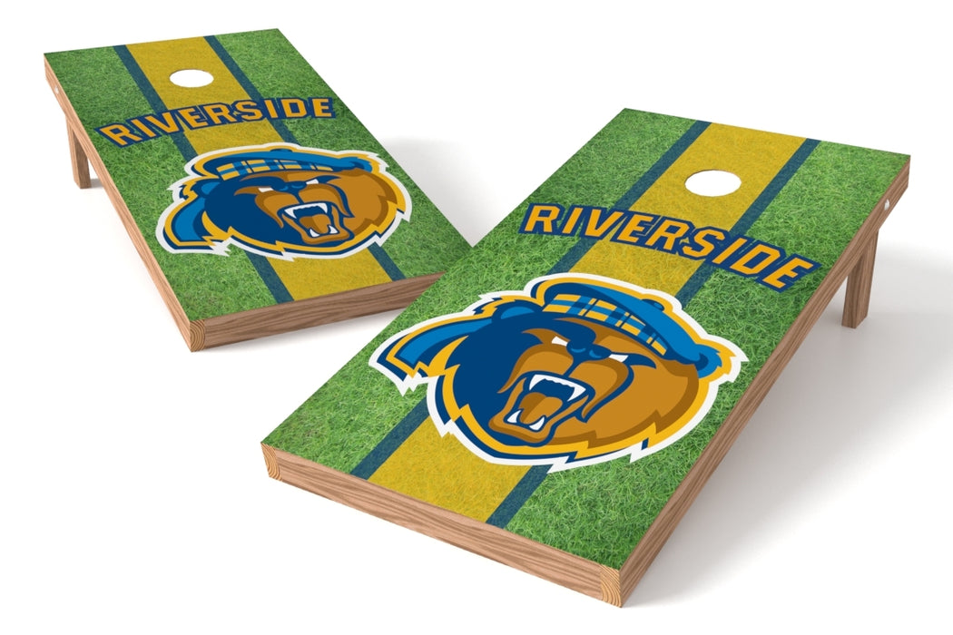 California, Riverside, U of 2x4 Cornhole Board Set - Field