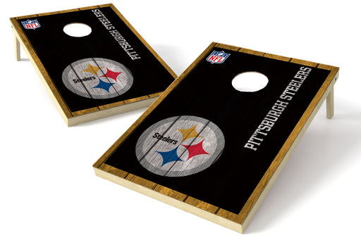 Pittsburgh Steelers 2x3 Cornhole Board Set - Vintage