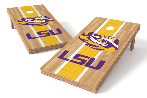 Louisiana State Tigers 2x4 Cornhole Board Set - Wood