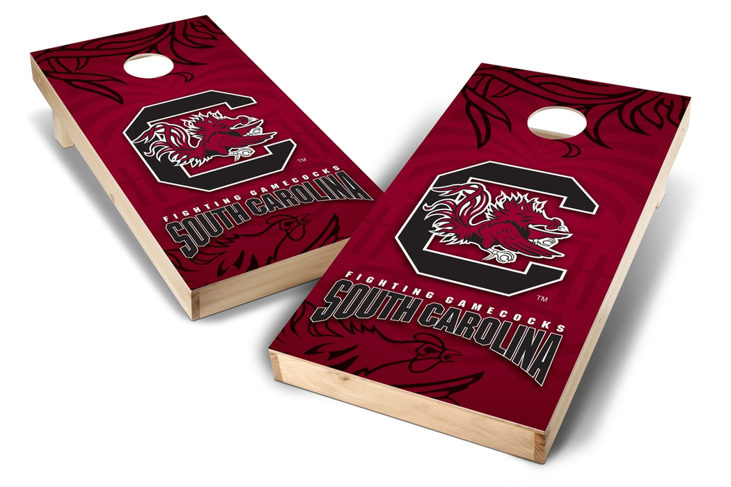 South Carolina Gamecocks 2x4 Cornhole Board Set - Wild