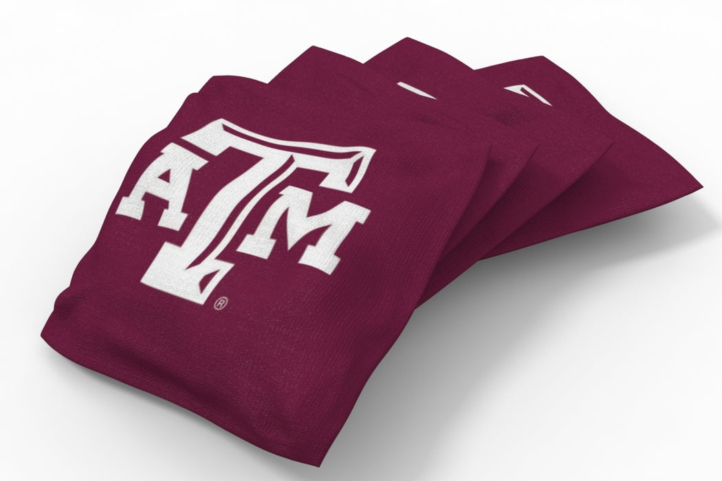 Texas A&M Aggies 2x4 Cornhole Board Set - Burlap