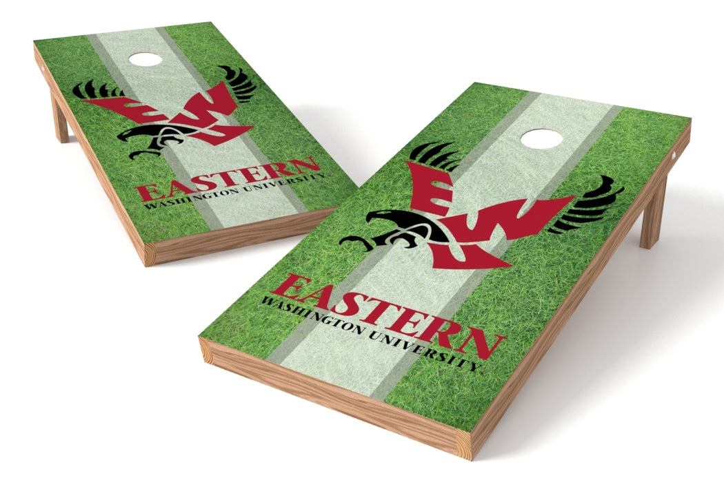 Eastern Washington U 2x4 Cornhole Board Set - Field