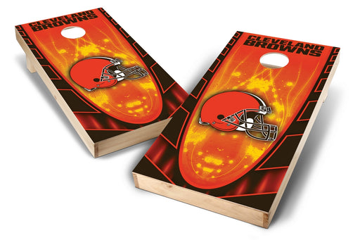 Cleveland Browns 2x4 Cornhole Board Set - Hot