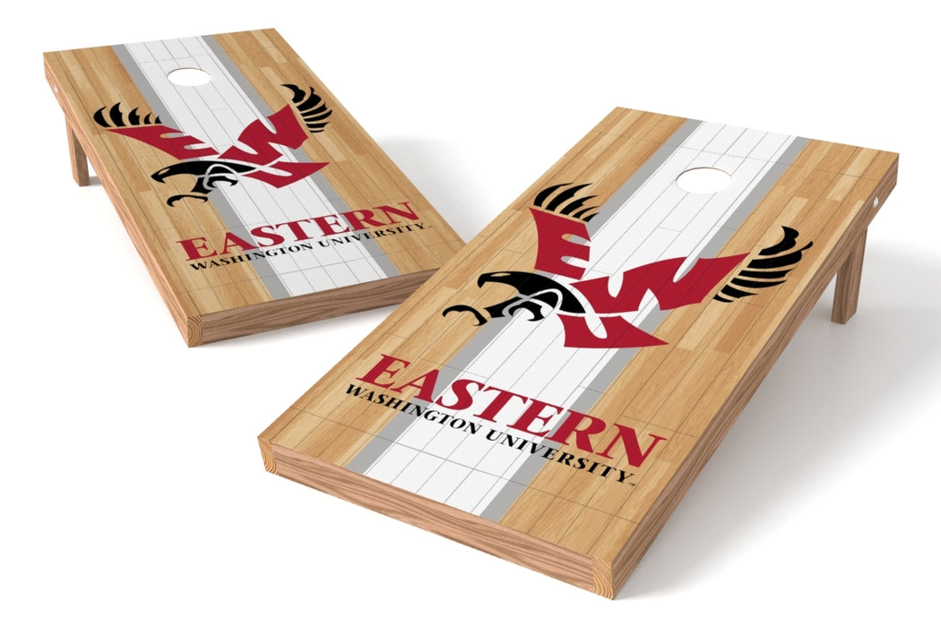 Eastern Washington U 2x4 Cornhole Board Set - Wood