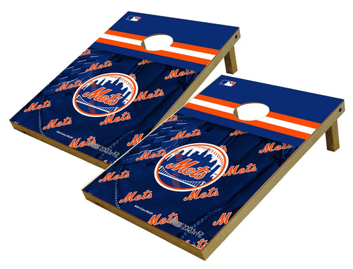 New York Mets 2x3 Cornhole Board Set - Glove