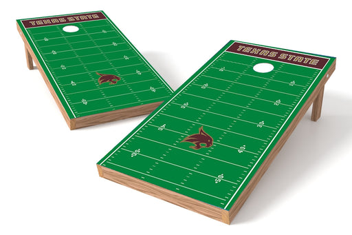 Texas State 2x4 Cornhole Board Set - Field