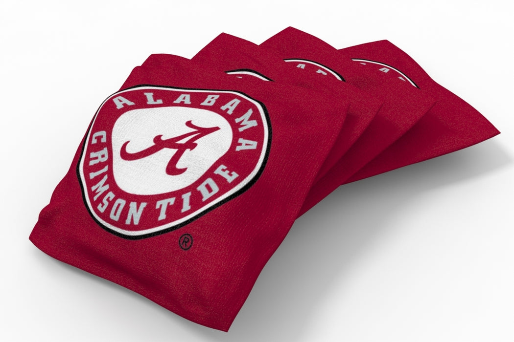 Alabama Crimson Tide 2x4 Cornhole Board Set - Field