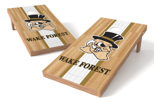 Wake Forest Deamon Deacons 2x4 Cornhole Board Set - Wood