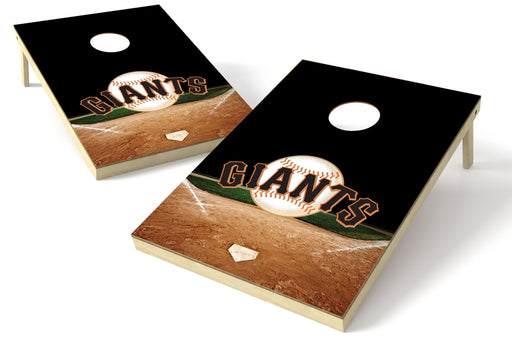 San Francisco Giants 2x3 Cornhole Board Set - Home Plate