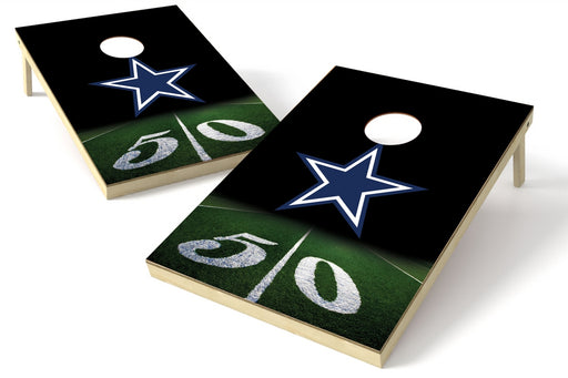 Dallas Cowboys 2x3 Cornhole Board Set - 50 Yard Line