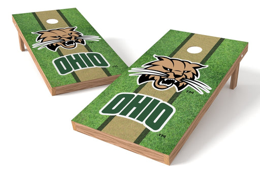 Ohio Bobcats 2x4 Cornhole Board Set - Field