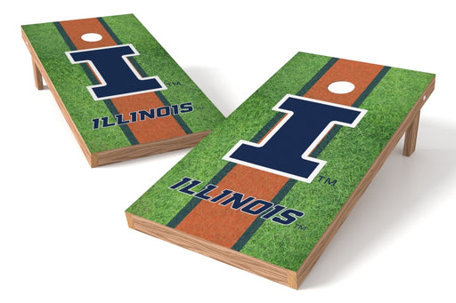 Illinois Fightin Illini 2x4 Cornhole Board Set - Field